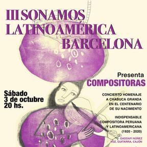 III Sonamos Latinoamérica Barcelona
