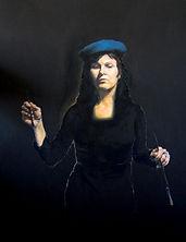 Portrett av kunstner