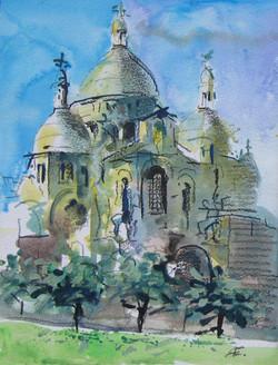 Paris, Basilika Sacré-Coeur
