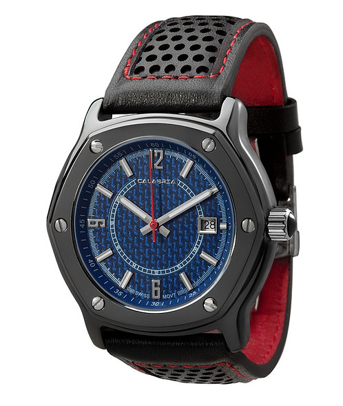 Furtiva - Blue Carbon Fiber Dial