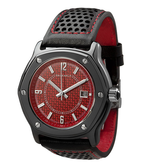 Furtiva - Red Carbon Fiber Dial