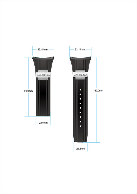 Wristband - Armato Collection - Silicone