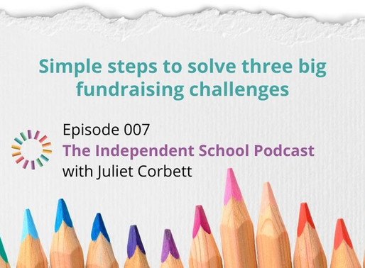 007: Simple steps to solve three big fundraising challenges