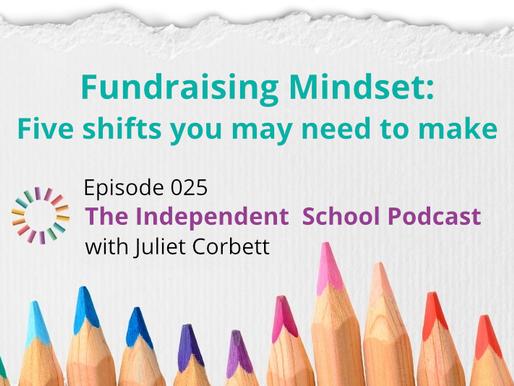 025 Fundraising mindset: Five shifts you may need to make