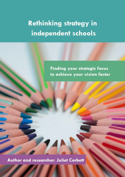 Rethinking Strategy in Independent Schools report