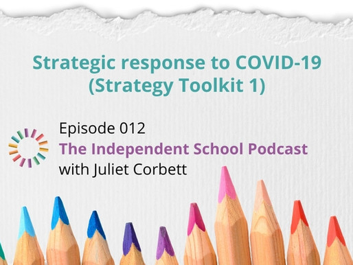 012: Strategic response to COVID-19 (Strategy Toolkit 1)