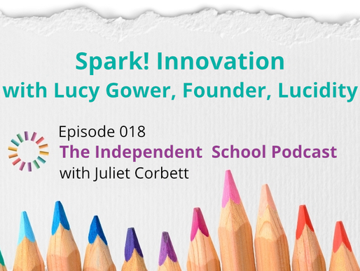 018: Spark! Innovation with Lucy Gower, Founder, Lucidity