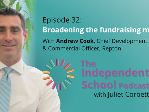 032: Broadening the fundraising mix with Andrew Cook, Chief Development & Commercial Officer, Repton