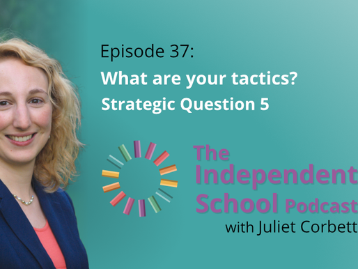 037: What are your tactics? Strategic question #5