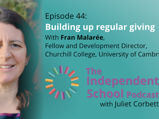044 Building up regular giving with Fran Malarée, Fellow and Development Director, Churchill College