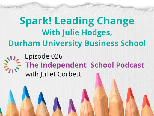 026 Spark! Leading change with Professor Julie Hodges, Durham University Business School