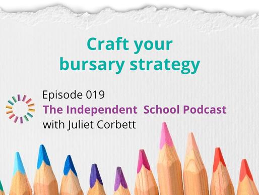 019: Craft your bursary strategy