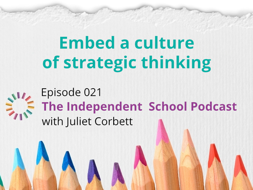 021: Embed a culture of strategic thinking