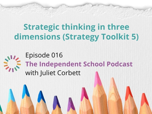 016: Strategic thinking in three dimensions (Strategy Toolkit 5)