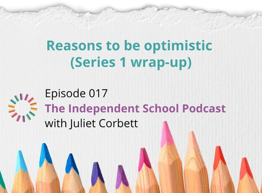 017: Reasons to be optimistic (Series 1 wrap-up)