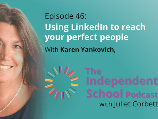 046 Using LinkedIn to reach your perfect people with Karen Yankovich