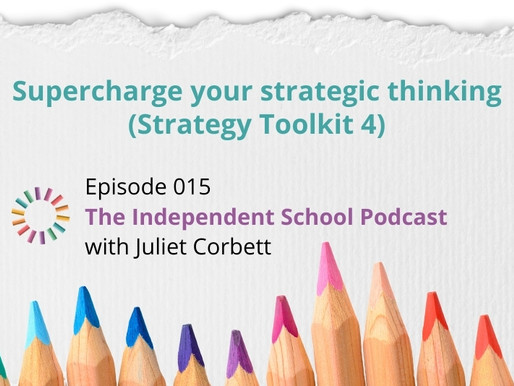 015: Supercharge your strategic thinking (Strategy Toolkit 4)