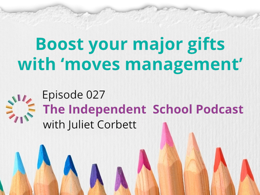027: Boost your major gifts with 'moves management'