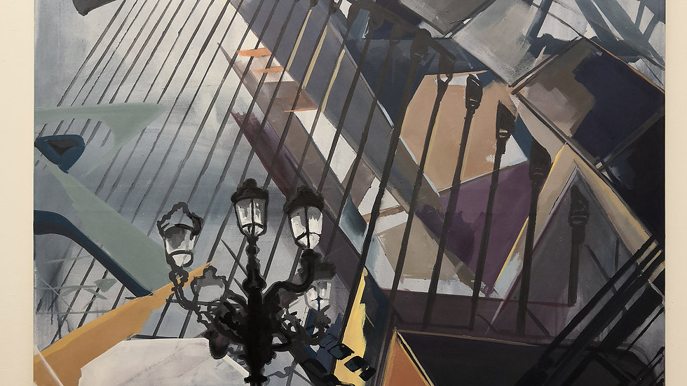 VALENCIA | Acryl auf Leinwand | 145x105 cm