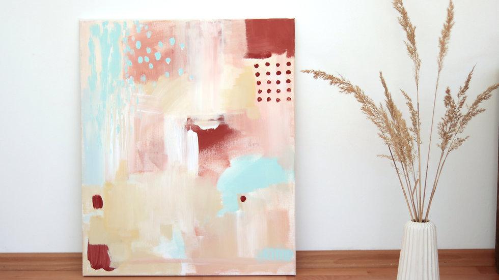 Acrylmalerei auf Leinwand | 60x50 cm