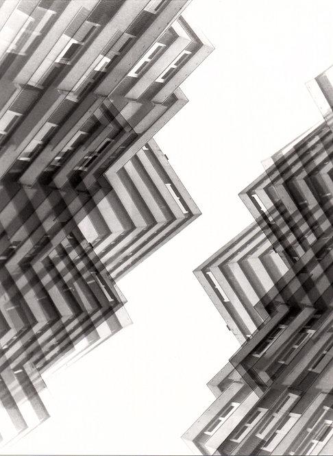 Aus der Serie: construction | analoge S/W-Fotografie