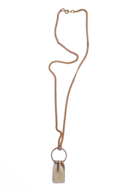 CIRCLE DRAPE necklace