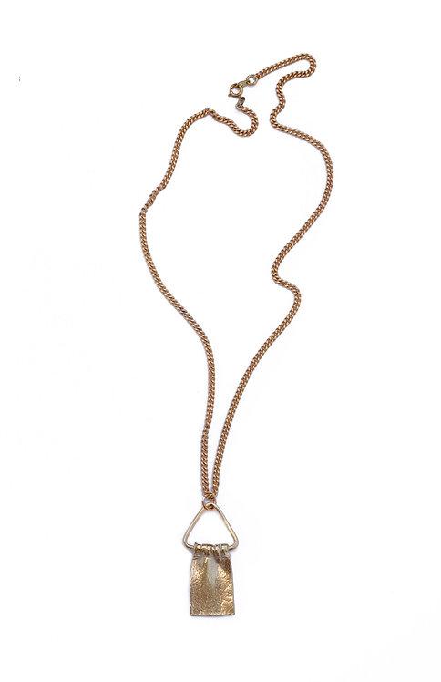 TRIANGLE DRAPE necklace