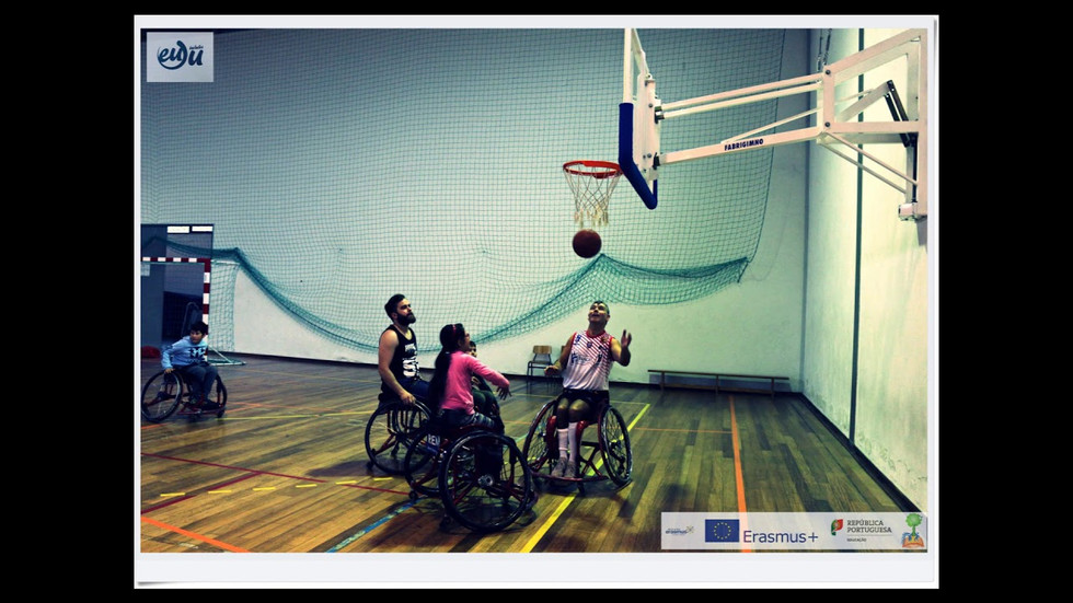 Week of Inclusion - Basketball in Wheelchair