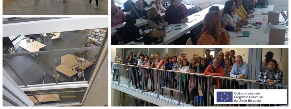 No último dia de trabalhos na Universidade de Tallin, procedeu-se a uma reflexão final no que concerne às expetativas e realidades da formação e sistemas educativos observados. Preencheu-se o questionário da avaliação da formação e foram distribuídos os certificados.  Até à próxima Finlândia e Estónia Näet ympärilläsi , Kiitos Suomi!!! Kuni järgmise, Aitäh Eesti !!!!