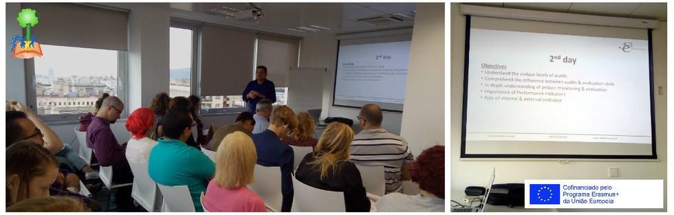 Dia 2 - Auditorias, avaliação (interna e externa), monitorização, indicadores de performance.