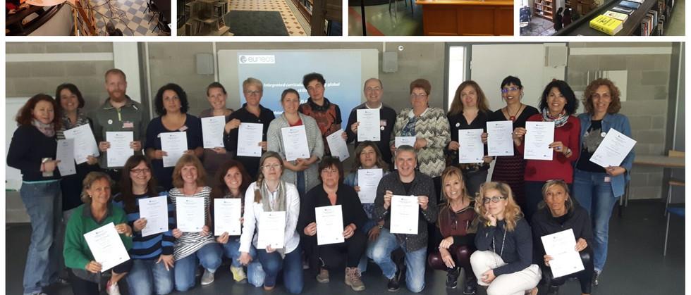 Dia 6 - Workshop sobre escolas potenciadoras do bem estar no currículo finlandês / Visita ao centro de Educação Artística - Annantalo (Helsínquia) / Avaliação da formação e entrega dos certificados / Visita à Biblioteca mais antiga de Helsínquia.