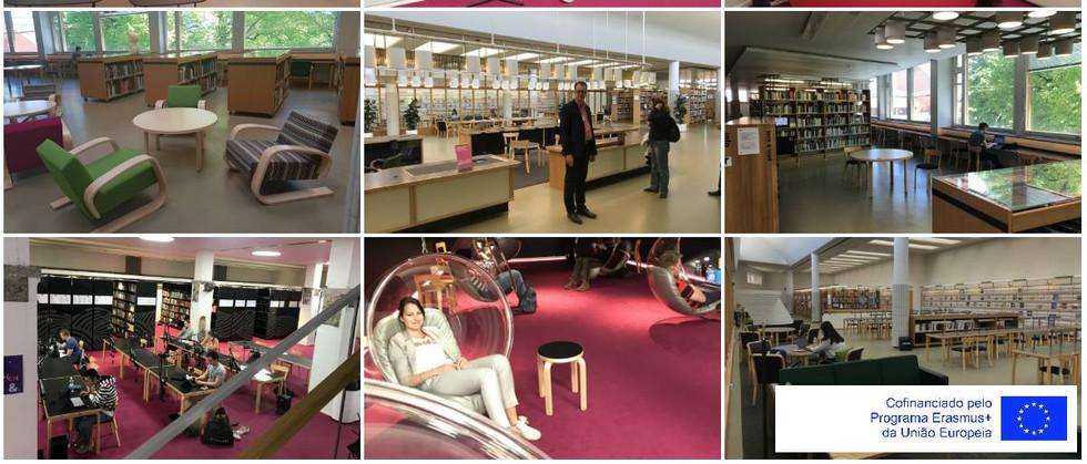 Dia 7 - visita à Universidade de Aalto (Centro de Aprendizagem).