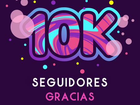 Celebramos nuestros 10K Seguidores