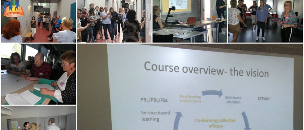 Dia 2 - As professoras em formação tiveram no segundo dia, sessões sobre estratégias Currículo Integrado e novos ambientes de aprendizagem numa perspetiva de currículo integrado no sistema finlandês.