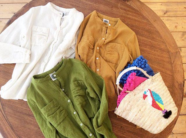 縮絨ウールシャツ