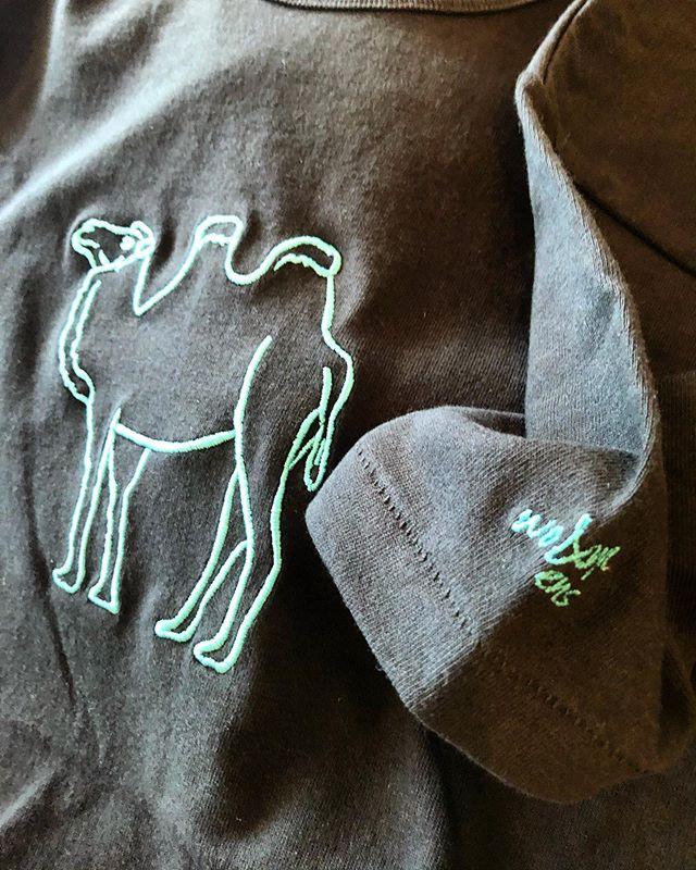 ▪︎Tシャツオーダー会▪︎ 4/1-4 刺繍の柄は、二種類 ネイチャー刺繍 ca