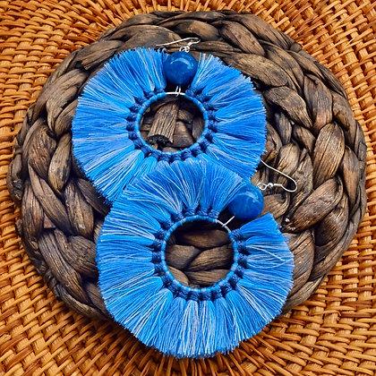 doughnut in blue