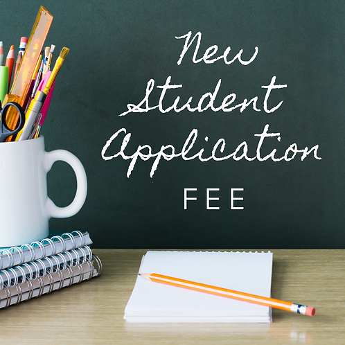 New Student Application Fee