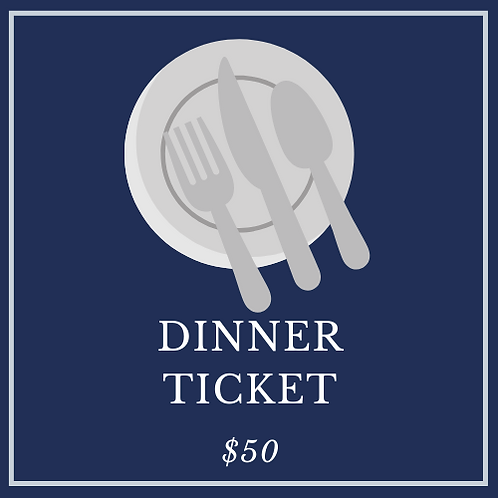 Top Golf Fundraiser Dinner Ticket
