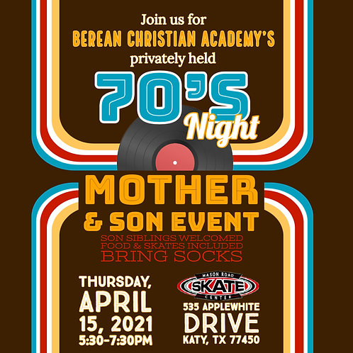 Mother + Son Night Out Couples Ticket