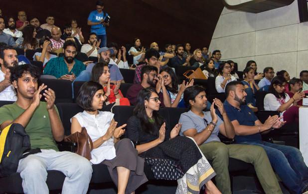 Audience at Bombay Art Society