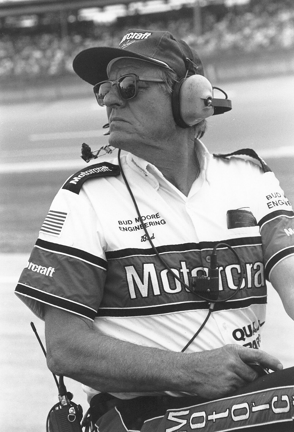 Bud Moore at Talladega. ( ISC Archives via Getty Images photo)