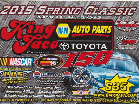 NASCAR Touring Event at Irwindale Gets Celebrity Race Opener