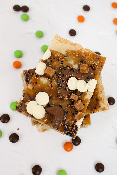 Sticky Toffee Blondie Slice