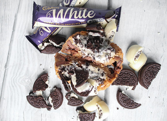DAIRY MILK WHITE OREO Deep Dish Cookie