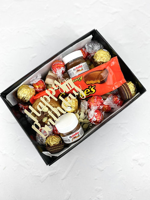 2DD Celebration Box Nuts Themed
