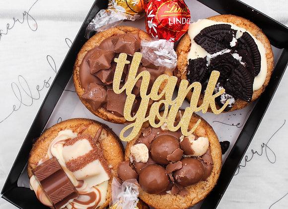 Thank You Box - Mini Deep Dish Cookie