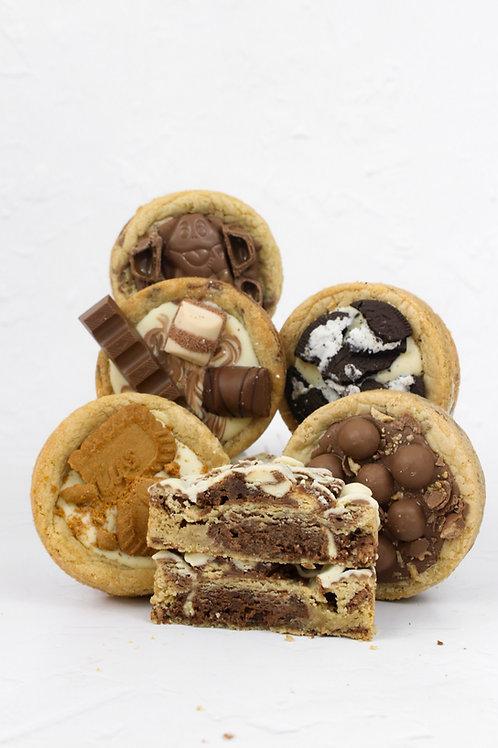Box of 6 Deep Dish Cookies - Pick N Mix