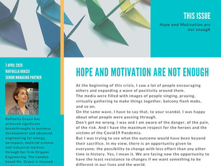 Hope and Motivation are not enough