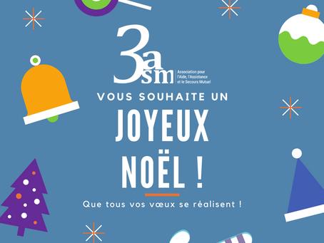 3asm vous souhaite de joyeuses fêtes de fin d'année !